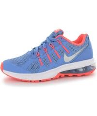 Nike Air Max Dynasty Girls Trainers, blue/silv/mango