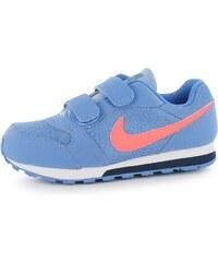 Nike MD Runner 2 Infant Girls Trainers, blue/mango