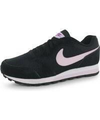 Nike MD Runner 2 Ladies Trainers, black/hypviolet