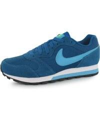 Nike MD Runner 2 Ladies Trainers, green/blue