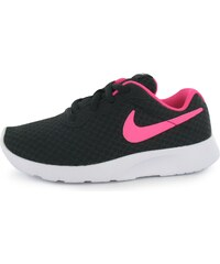 Nike Tanjun Childrens Running Trainers, black/pink