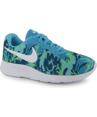 Nike Tanjun Print Trainers Ladies, blue/white