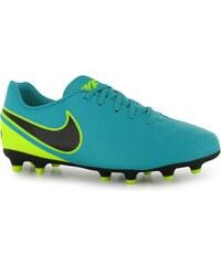 Nike Tiempo Rio FG Football Boots Junior, jade/black