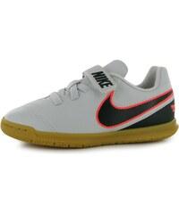 Nike Tiempo Rio III IC Childrens Football Trainers, platinum/blk