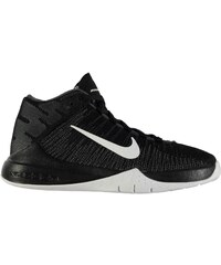 Nike Zoom Ascention Basketball Trainers Junior Boys, black/white