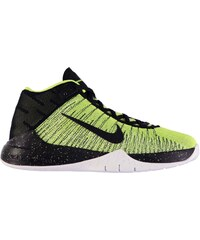 Nike Zoom Ascention Basketball Trainers Junior Boys, volt/black