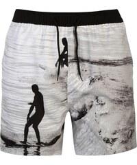 Ocean Pacific Sub Print Swim Shorts, waves