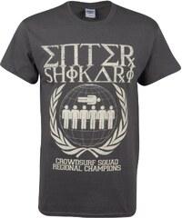 Official Enter Shikari T Shirt, crowd surfing