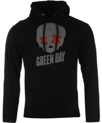 Official Green Day Hoodie Mens, grey skull