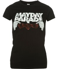 Official Mayday Parade T Shirt, skinny heart