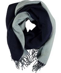 Pieces Double Layer Scarf, navy/greyblue