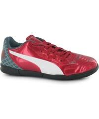 Puma evoPower 4.2 G Astro Turf Trainers Childrens, red/white