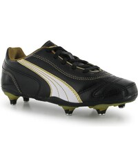 Puma Kratero SG Childrens Football Boots, black/gold