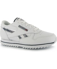 Reebok Classic Etched Junior Trainers, white/bluecadet
