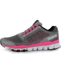 Reebok HexAffect Storm Ladies Running Shoes, steel/solarpink
