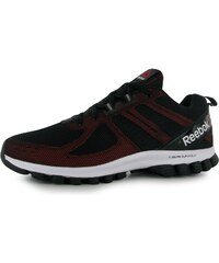 Reebok SubLite Super Duo Trainers Mens, black/red