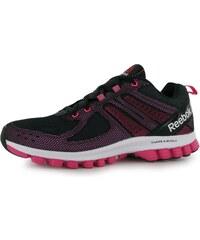 Reebok SubLite SuperDuo 2 Ladies Running Shoes, black/solarpink