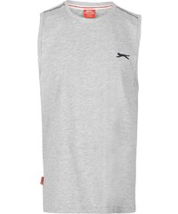 Slazenger Sleeveless T Shirt Junior Boys, grey marl