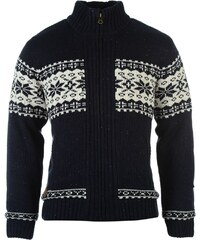 Soul Cal SoulCal Fleece Lined Knitted Cardigan, navy/cream