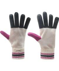 Soul Cal SoulCal Haze Gloves Ladies, ecru/pink/char