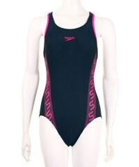 Speedo Swimsuit Ladies, navy/lipstick