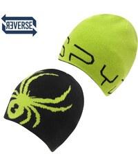 Spyder Elevation Mens Beanie Hat, black/green