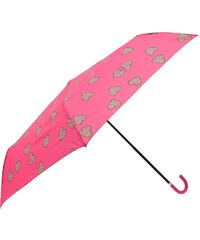 Susino Leopard Heart Umbrella, pink
