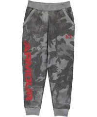 Under Armour Titan Fleece Pants Junior Boys, steel/red