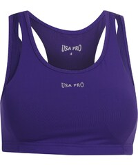 USA Pro Medium Sports Bra, deep purple