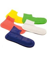 WIN Colour Latex Socks Mens, yellow