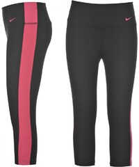 Nike Tight Poly Capri Ladies, black/pink
