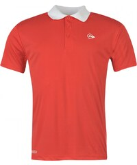 Dunlop Performance Polo Shirt Mens, red