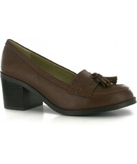 Miso Tilly Ladies Loafers, tan pu
