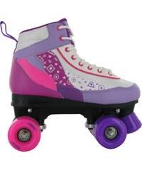 No Fear Retro Quad Skate Kids Girls, white/purple