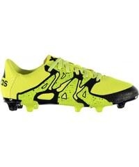 Adidas X 15.3 FG Childrens Football Boots, solar yellow