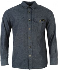 Dunlop Denim Shirt Mens, blue denim