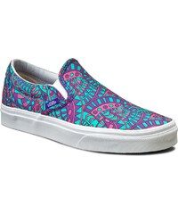 Turnschuhe VANS - Classic Slip-On VN0003Z4IG4 (Liberty) Satchmo/True White