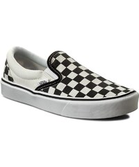 Turnschuhe VANS - Slip-On Lite+ VN0004PEIB8 (Checkerboard) Black/Classic White