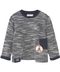 MANGO BABY Sweat-Shirt Jaspé Coton