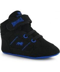 Lonsdale Canons Crib Shoes, black/royal