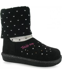 Skechers Twinkle Toes Childrens Boots, black