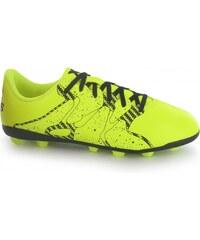 Adidas X 15.4 FG Childrens Football Boots, solar yellow