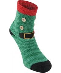 Miss Fiori Elf Novelty Socks Ladies, green