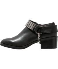 Eeight PAIGE Boots à talons black/silver