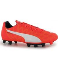 Puma EvoSpeed 4 Childrens FG Football Boots, orange