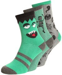 GAP GLOW 3 PACK Chaussettes happy green