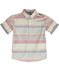 Ben Sherman 07T Short Sleeved Juniors Shirt, white