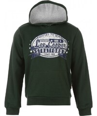 Lee Cooper Classic Over The Head Sweater Junior Boys, vintage green