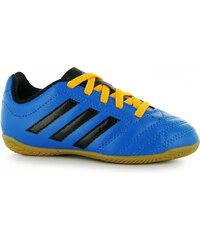 Adidas Goletto Childrens Indoor Football Trainers, shock blue/blk
