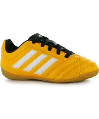 Adidas Goletto Childrens Indoor Football Trainers, solar gold/wht